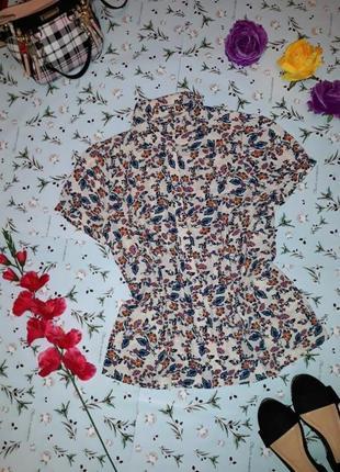Блуза с узором tu, размер 50