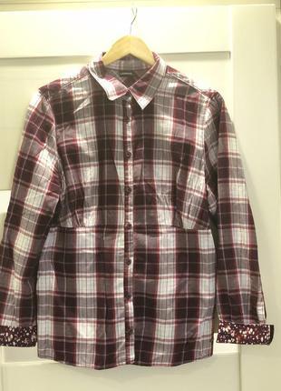 #распродажа 🌺 стильная рубашка в клеточку