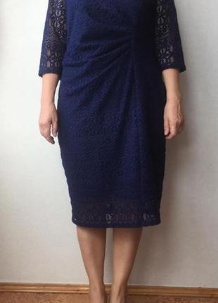 Кружевное платье marks&spencer