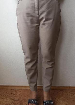 Бежевые брюки per una