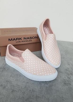 Кожаные слипоны mark nason р-р 37, оригинал