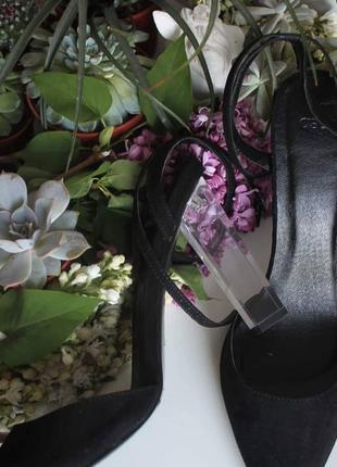 Туфли с прозрачным каблуком,туфли лодочки,вечерние туфли,asos paolo