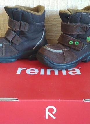 Reima yann reimatec. для мальчика или девочки.  осенне-зимние ботинки, 23 размер.