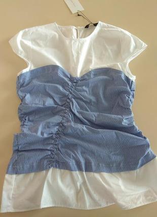 Zara блуза топ размер м