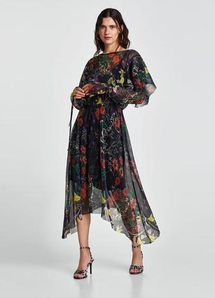 Платье  zara h&m mango
