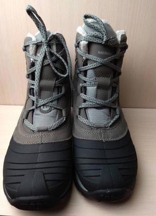 Зимние женские ботинки сноубутсы merrell
