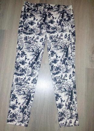 Повседневные брюки zara