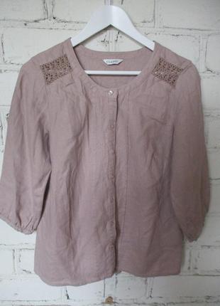 Блуза/55% лен, 45% вискоза
