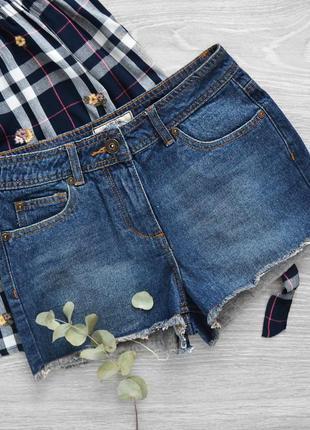 Vintage fit, шорты из плотного денима с высокой посадкой в винтажном стиле