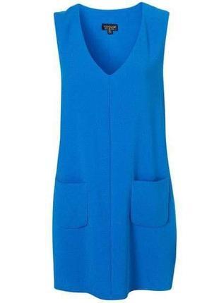 Платье с карманами стильное topshop