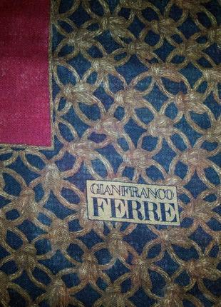 Платок xxl gianfranco ferre  оригинал