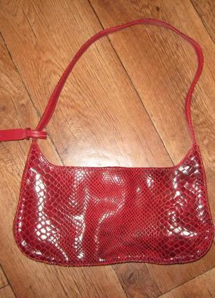 Новая сумочка next, натуральная кожа,