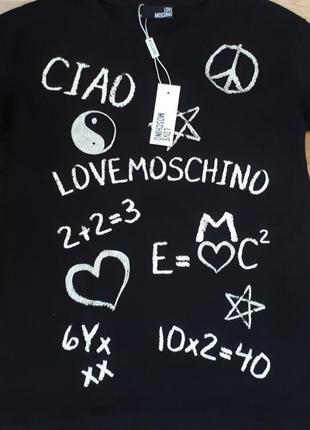 Футболка женская love moschino