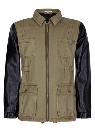 Размера 9,10,12,13 лет новая куртка хаки для девочки, sugar squad, 16055