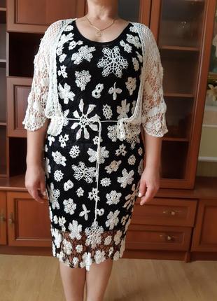 Вечірня сукня з накидкою від mary's twe