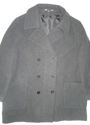 Пальто шерстяное, кашемир
