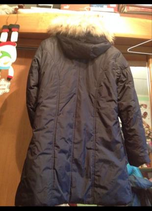 Зимнее пальто пуховик adidas