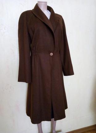 Легкое деми пальто от genny из тонкой шерсти ламы.
