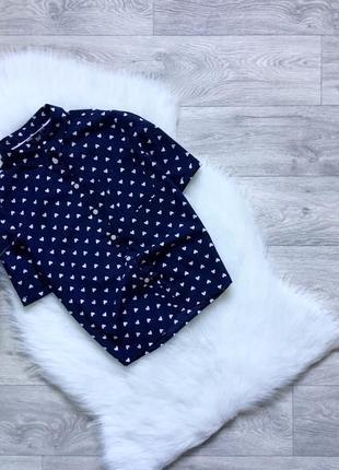 Рубашка с сердечками