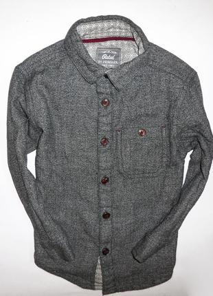 Коттоновая рубашка rebel by primark