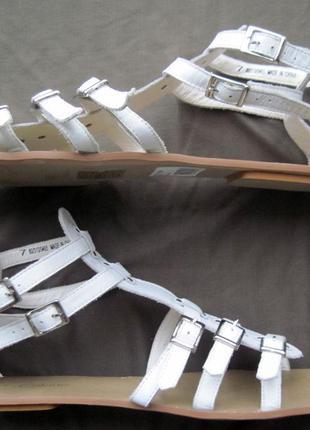 Calzino (41,5) кожаные сандалии женские