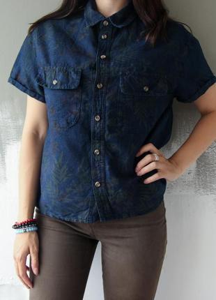 Льняная рубашка от top shop