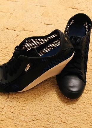 Puma летние ботинки-кроссовки на танкетке оригинал