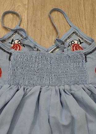 cb2fb482d17 ... Сарафаны с вышивкой в наличии цвета очень легкие лен платье летнее2 ...