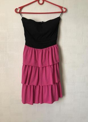Платье с поясом  tally weijl
