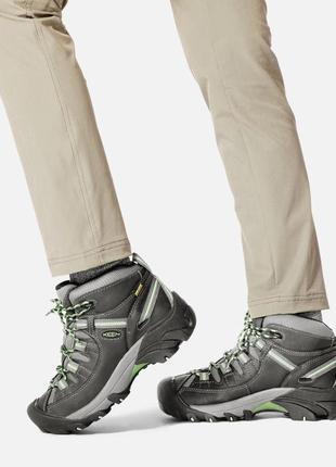 Треккинговые ботинки keen women's targhee ii waterproof mid