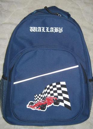 Новый школьный рюкзак wallaby - фирменный оригинал, есть светоотражатели