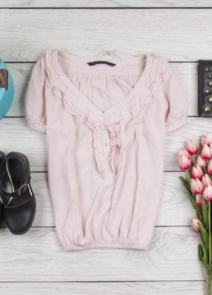 Блуза вискозная от zara рр s