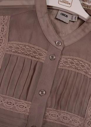 Шифоновая блуза asos4 фото