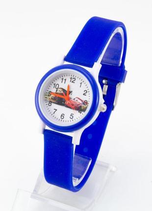 Часы тачки в синем цвете