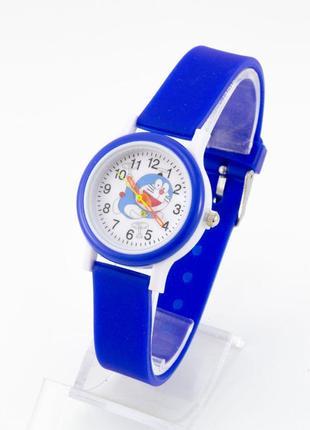 Часы детские в синем цвете