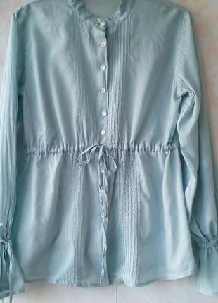 Блуза тонкий хлопок блуза хлопок