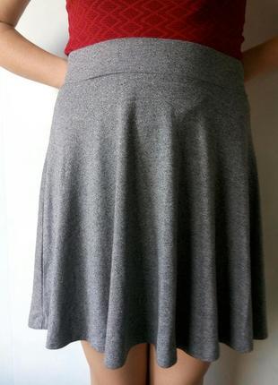 Серая юбка new yorker