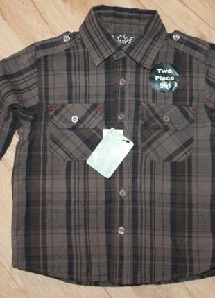 Рубашка rebel, на 2 года