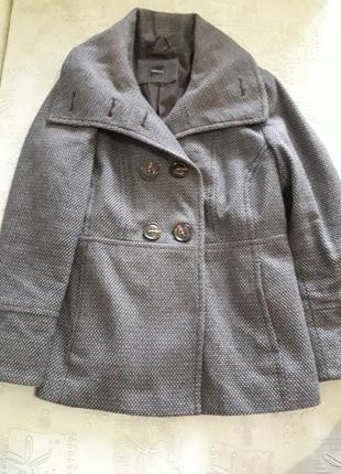 Пальто, короткое пальто, пальто деми