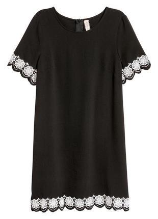 Платье с коротким рукавом h&m