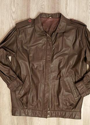 Супер стильная кожаная куртка