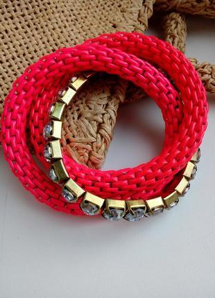 Массивный неоновый браслет от mia