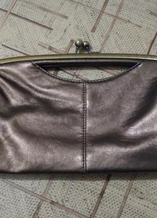 Клатч сумочка с интересной ручкой