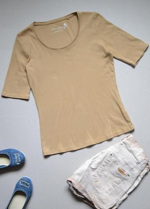 Базовая футболка 100% хлопок