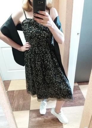 Платье mango вечернее, выпускное l
