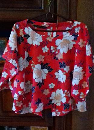 Яркая стильная блуза от zara
