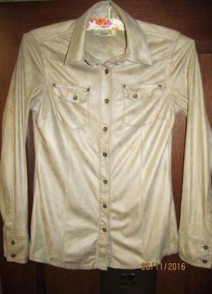 Рубашка pull & bear женская р. s(26)