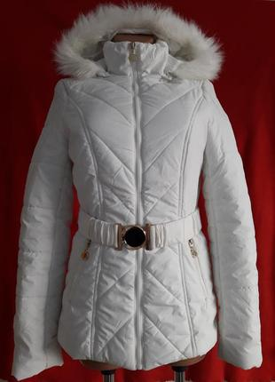 Стильная деми куртка фирмы chicoree forever young pазмер s