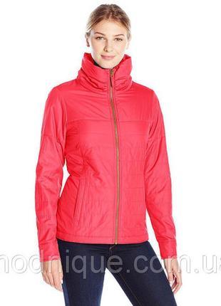 Женская куртка-ветровка на флисовой подкладке columbia. размер s