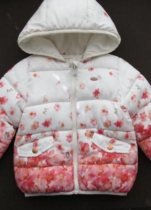 Куртка zara детская 12-18 мес.
